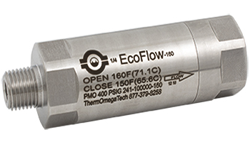 EcoFlow Thermostatic Control Double Mechanical Seal Support Valves