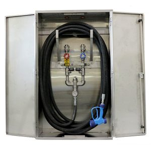 Model MRE Washdown Station Enclosure - 100ft hose