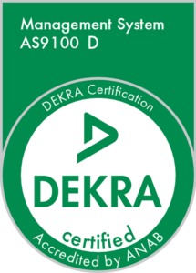 AS9100D Certification of Registration