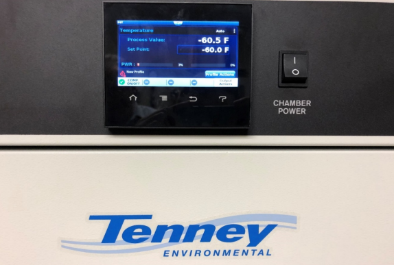 Environmental Chamber Settings